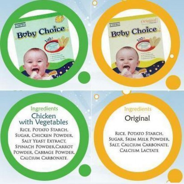 Baby Choice Biskuit Bayi
