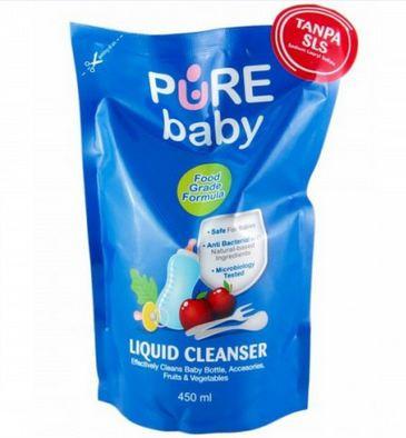 Pure Baby Liquid Cleanser 450ml Beli 2 GRATIS 1