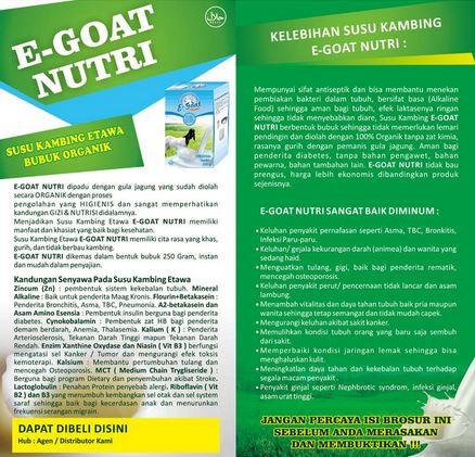 Susu Kambing Etawa E-GOAT NUTRI