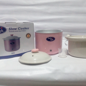 Slow cooker babysafe + lampu indikator