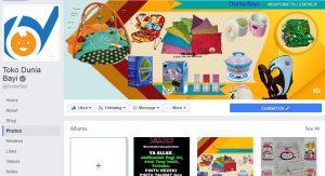 fanspage facebook dunia bayi