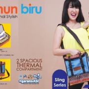 Cooler Bag GabaG Tenun Biru
